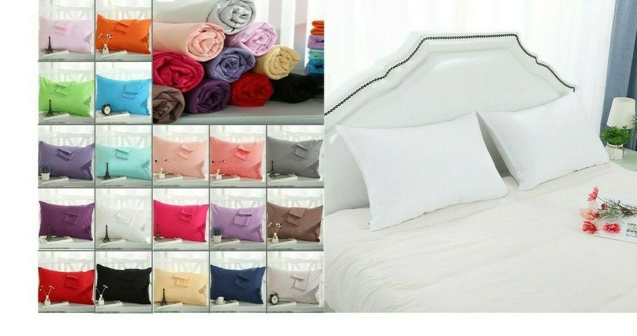standard size pillow case queen x 2 pcs