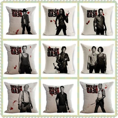 The Walking Dead Linen Cases Decor