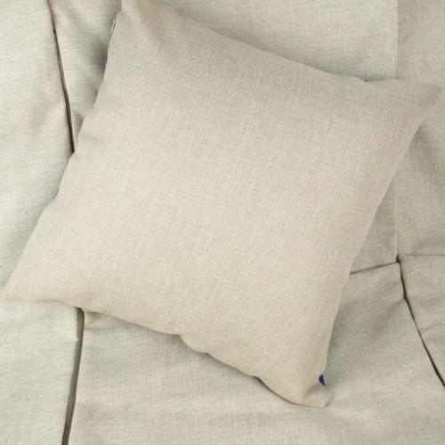 The Linen Throw Pillow Sofa Decor