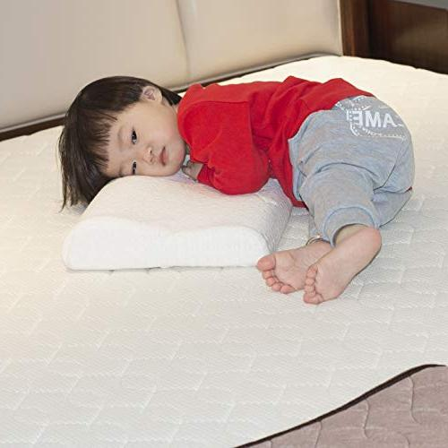 Easy-Tang Memory Pillow for Sleeping, Pillow Toddlers, Zipper Pillow Case