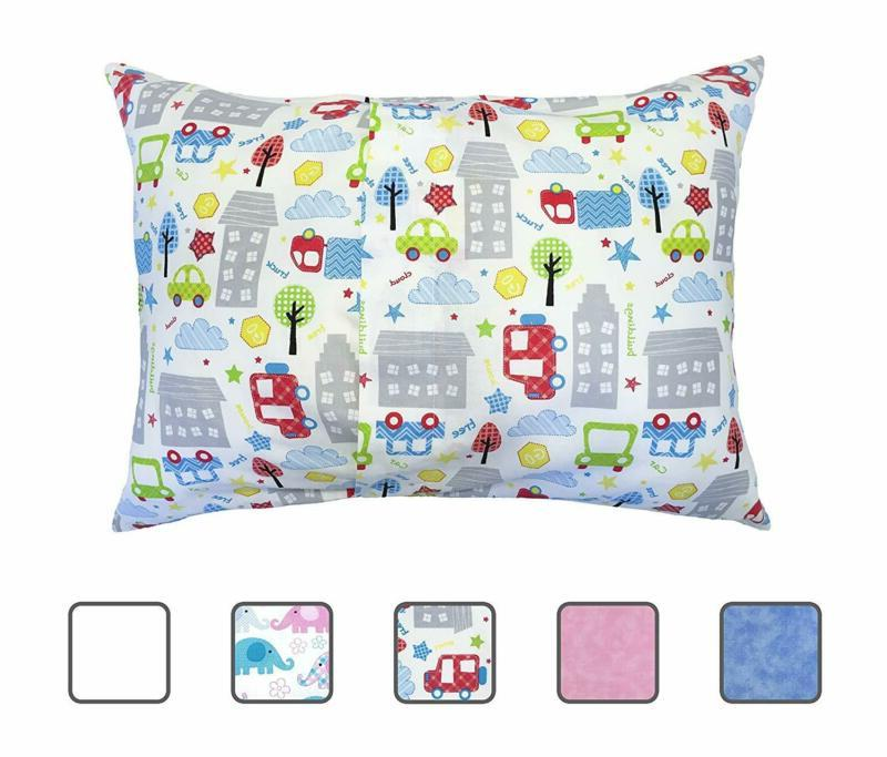 Little Head Toddler Pillowcase Cars,