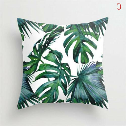 US Outdoor Leaf Pillow Cases Home