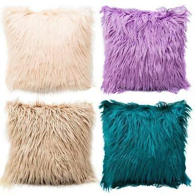 US Square Throw Fluffy Soft Cushion