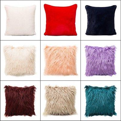 velvet square plush throw pillow soft cases