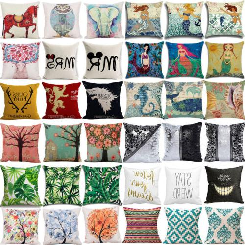 Cover Cases Throw Home Bed Decoration US
