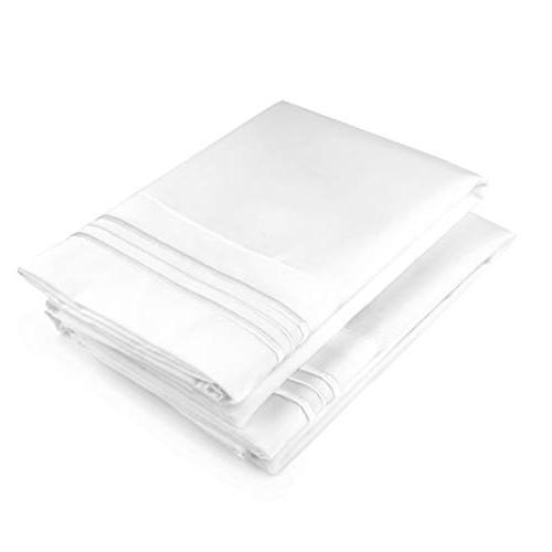 CGK Unlimited White Cases - Set of Soft Fits - Pack Pillow Cover