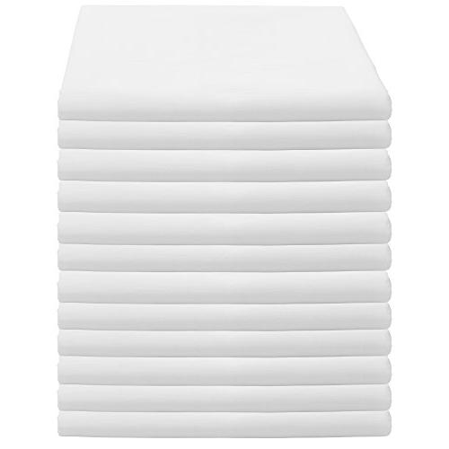 Weaved Collection White Pillowcases Pack T-180
