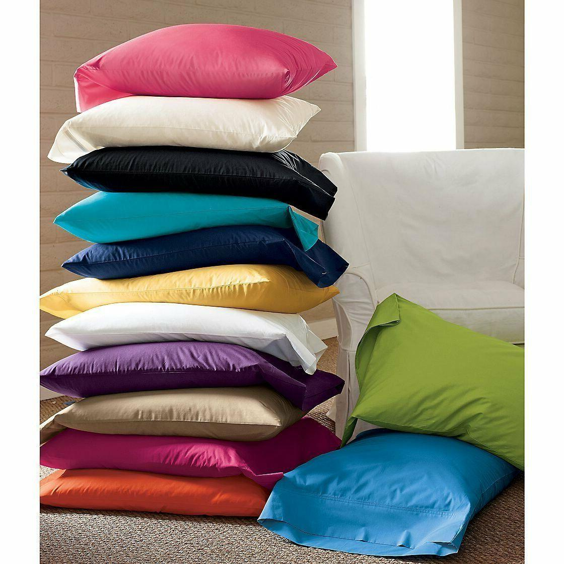 winter sales new 2pc bed pillowcases solid