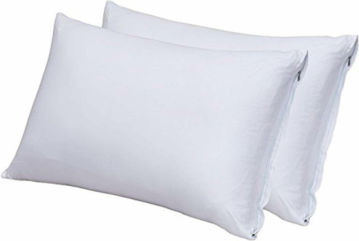 zippered bamboo pillow cases pack of 2