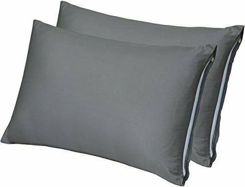 zippered bamboo pillow cases pack of 2king