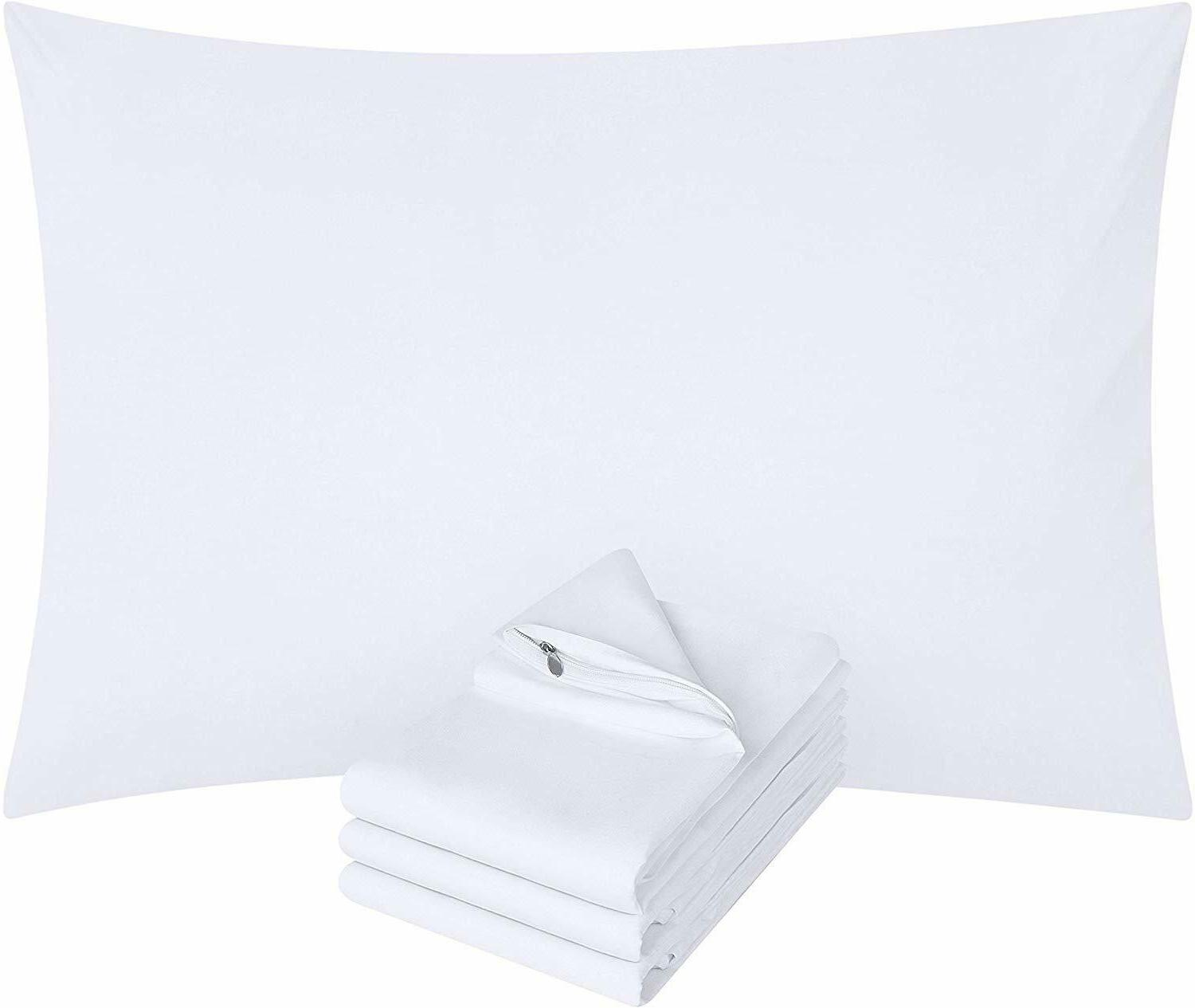 Zippered Pillow Cover Brushed Pack