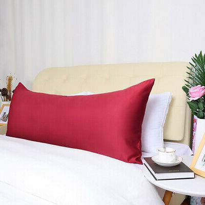 Zippered Silky Pillow Cover Cases