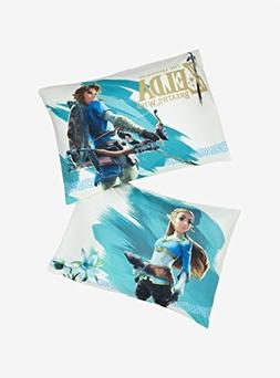 Hot Topic The Legend Of Zelda: Breath Of The Wild Pillowcase