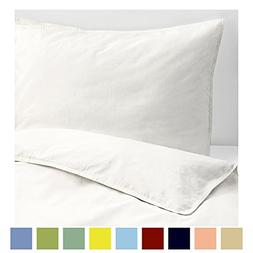 Kotton Culture Set of 2 Pillowcases Luxurious, Soft and Hypo