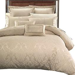 Luxury Sara 12PC King Size Bed in a Bag Set. Incudes: One Du