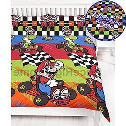 Mario Champs Reversible UK Double / US Full Duvet Cover with