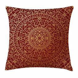 Ambesonne Oriental Throw Pillow Cushion Cover, Antique Arabi