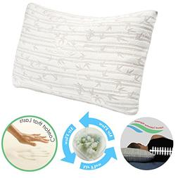 Clara Clark Memory Foam Pillow, King  Size
