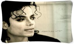 Michael Jackson King of Pop Throw Pillow Cases 20X30 Inch Tw