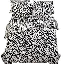 NTBAY Minimalism Series Hotel Quality 5 Piece Black and Whit