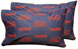 College Covers Mississippi Rebels Pair of Solid Pillowcase,