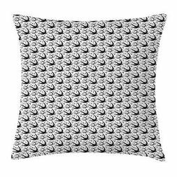 Moon Throw Pillow Cases Cushion Covers by Ambesonne Home Dec