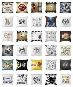 Movie Theater Throw Pillow Cases Cushion Covers Ambesonne Ac