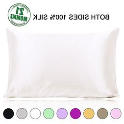 Ravmix Mulberry Silk Pillowcase Pillow Case Both Sides 21 Mo