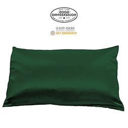 Fishers Finery 30mm 100% Pure Mulberry Silk Pillowcase Good