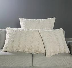 Brielle Nesting Pillow Case, King, Snow Goose Ivory