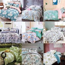 New Cotton Duvet Cover Set Quilted Bedding Set With Pillow C