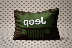 New JEEP Authentic American Cruisader Zippered Pillow Cases