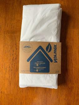 NORWEX New PILLOW CASES Set of 2 Microfiber Pillowcases w/Ba