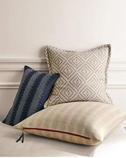 """NWT Eileen Fisher Striped Pillow Cases 26""""x 26"""" or   20""""x 20"""