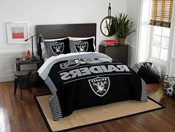 Northwest Enterprises Oakland Raiders COMBO 5 Pc FULL/QUEEN