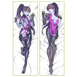 overwatch widowmaker peach skin pillowcase