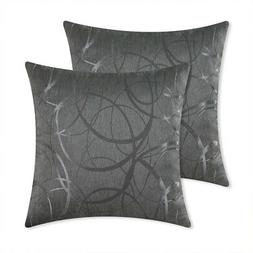 Pack of 2 Cushion Covers Throw Pillow Cases Shells for Couch