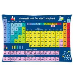 PocaBlife Periodic Table Of Elements Pillowcase Rectangle Pi