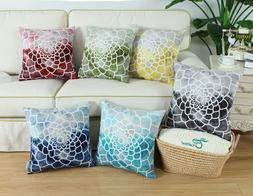 Pillow Cases Covers Shell for Couch Bed Sofa Print Dahlia Co