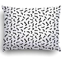 Emvency Pillow Covers Decorative Abstract Geometric Pattern