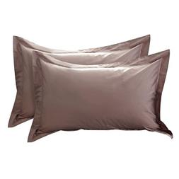 uxcell Pillow Shams Oxford Pillow Cases Egyptian Cotton 300