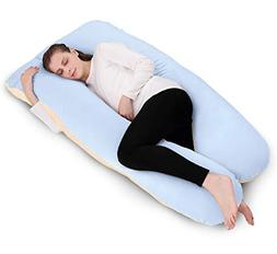 Body Pillow U Shaped with Removable Cotton Pregnancy Pillow