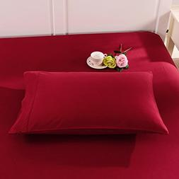 Do&Get Home Fashion Pillowcase Set, Double Brushed Microfibe