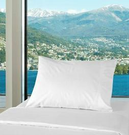 Polycotton Bulk Pack of 24 Queen Size Pillowcases, White 200