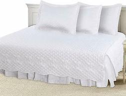 polyester daybed set white