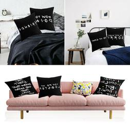 Polyester Sofa Printed Pillow Cases Pillow Covers Friends TV
