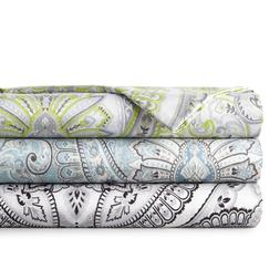 Premium Pure Melody Classic Paisley Sheet Set and Add On Pil