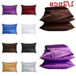 Pure Silk Pillow Cases Cushion Covers Pillowcases Standard Q