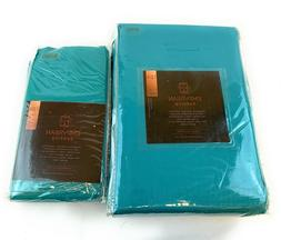 Premium Queen Size Sheets Set - Teal Turquoise Hotel Luxury