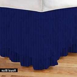Queen Size 300-Thread Count Stripe Pattern 100% Egyptian Cot